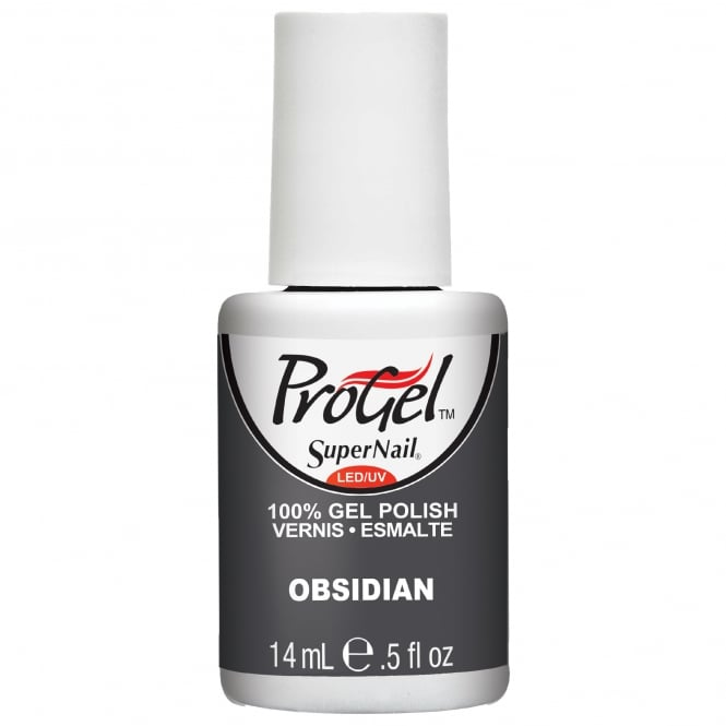 SuperNail Pro Gel Nail Polish - Obsidian 14ml