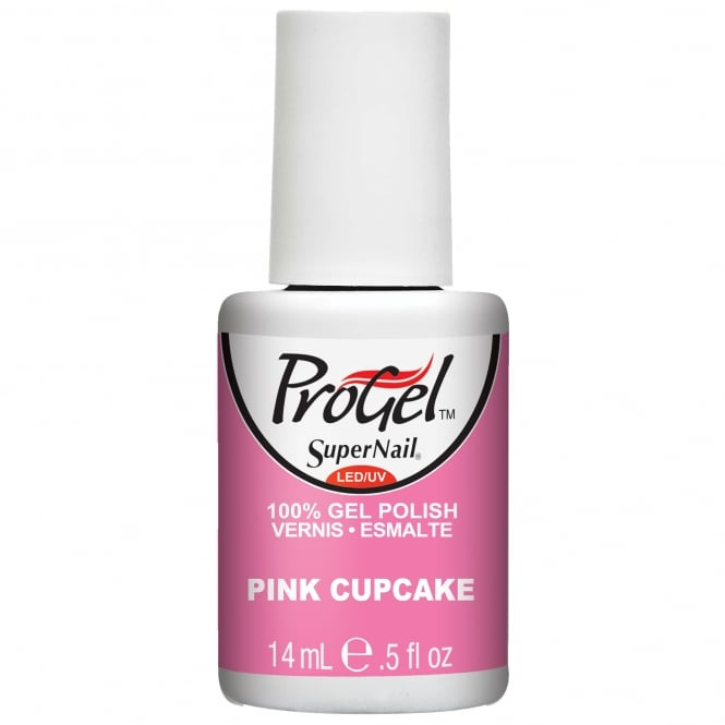SuperNail Pro Gel Nail Polish - Pink Cupcake 14ml