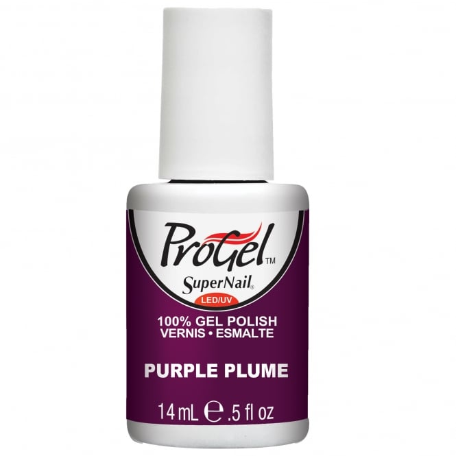 SuperNail Pro Gel Nail Polish - Purple Plume 14ml