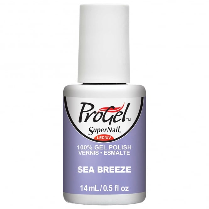 SuperNail Pro Gel Nail Polish - Sea Breeze 14ml (81914)