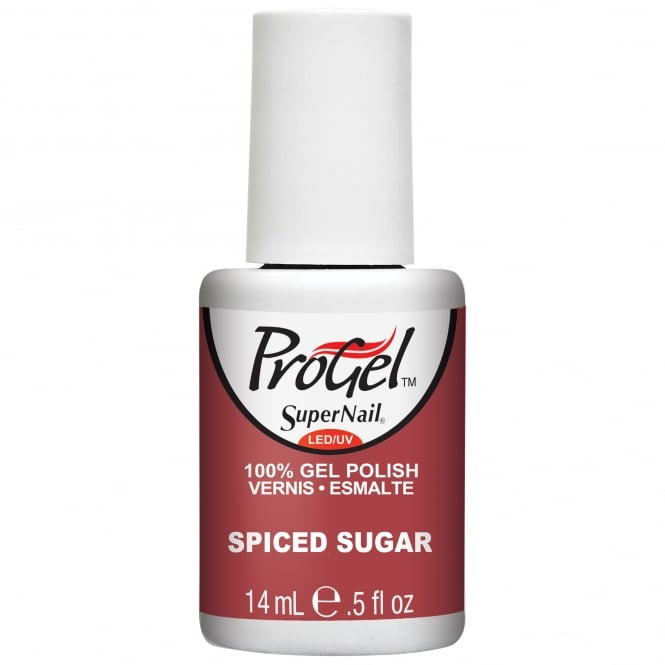 SuperNail Pro Gel Nail Polish - Spiced Sugar 14ml