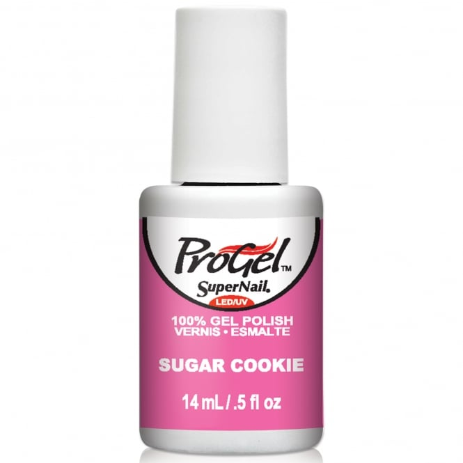 SuperNail Pro Gel Nail Polish - Sugar Cookie 14ml