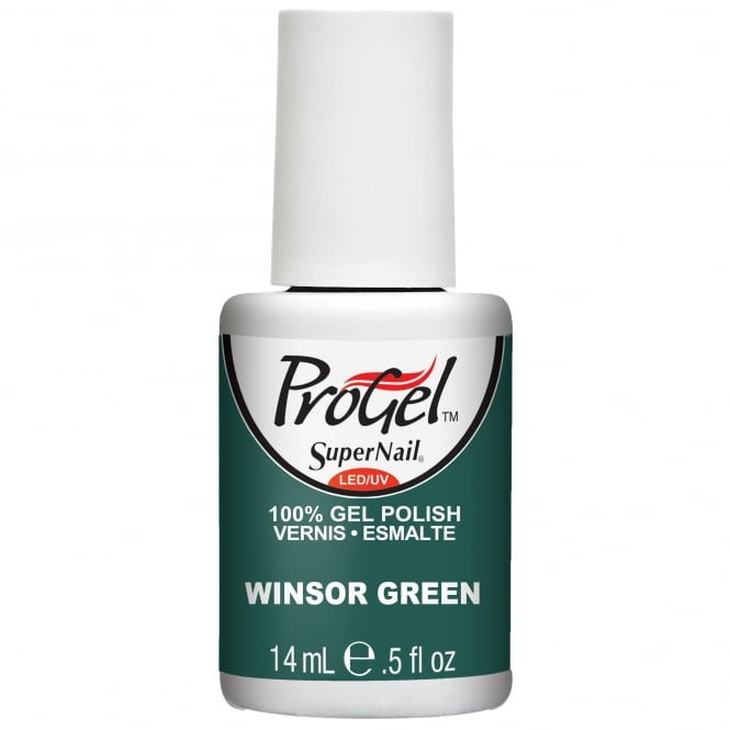 SuperNail Pro Gel Nail Polish - Winsor Green 14ml