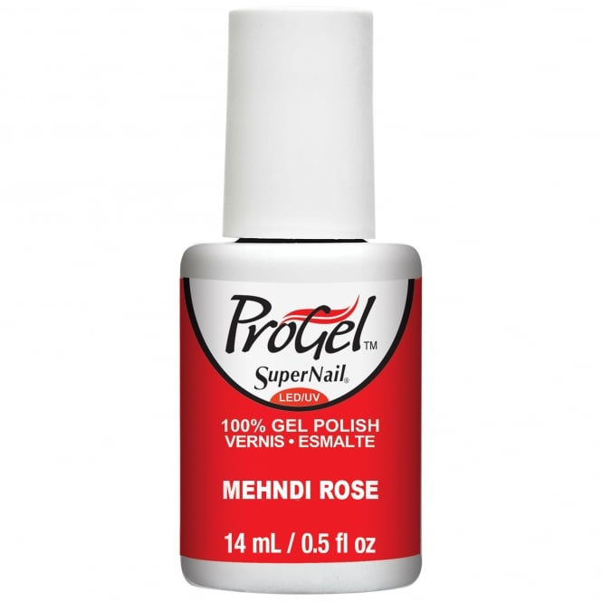SuperNail Pro Nail Polish Festival Of Colours 2016 Gel Collection - Mehndi Rose 14ml