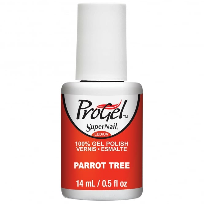 SuperNail Pro Nail Polish Festival Of Colours 2016 Gel Collection - Parrot Tree 14ml