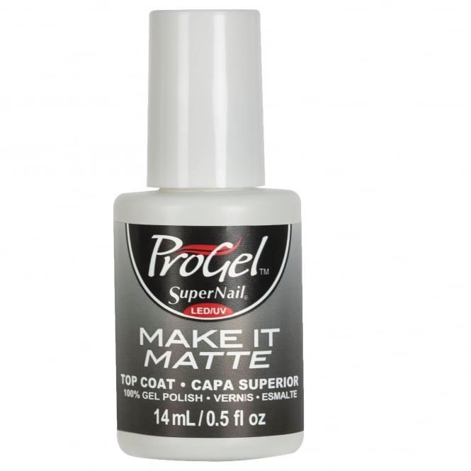 SuperNail Pro Nail Treatment - Make It Matte Top Coat 14ml