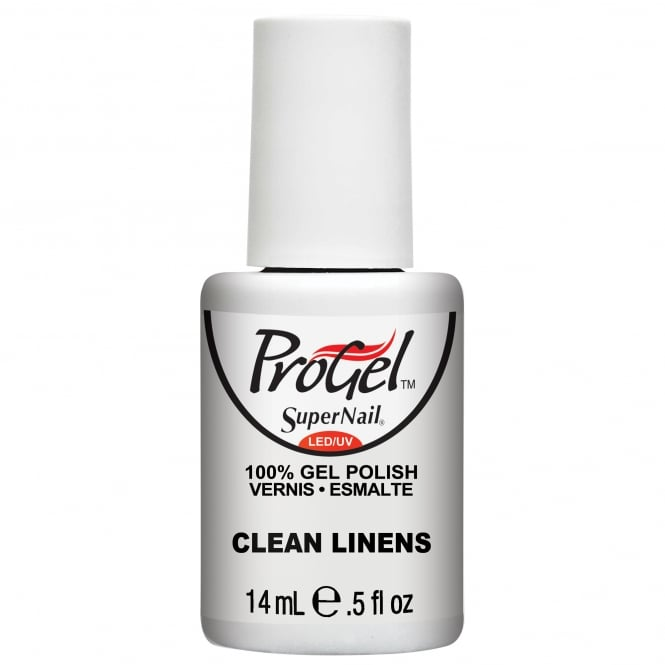 SuperNail Pro Gel Nail Polish - Clean Linens 14ml