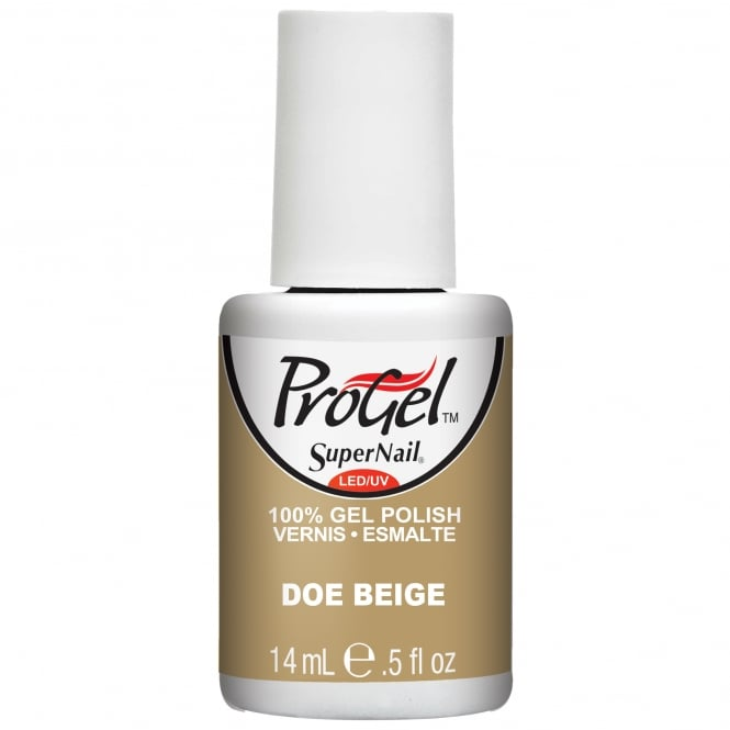 SuperNail Pro Gel Nail Polish - Doe Beige 14ml