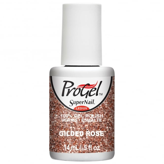 SuperNail ProGel Gel Nail Polish - Gilded Rose 14ml