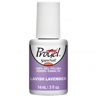 Gel Nail Polish - Lavish Lavender 14ml