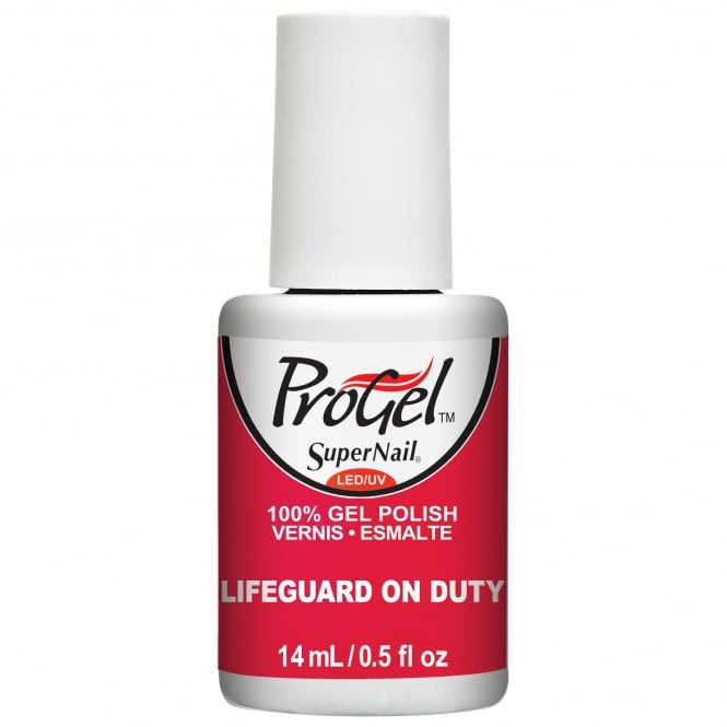 SuperNail ProGel Gel Nail Polish - Lifeguard On Duty 14ml