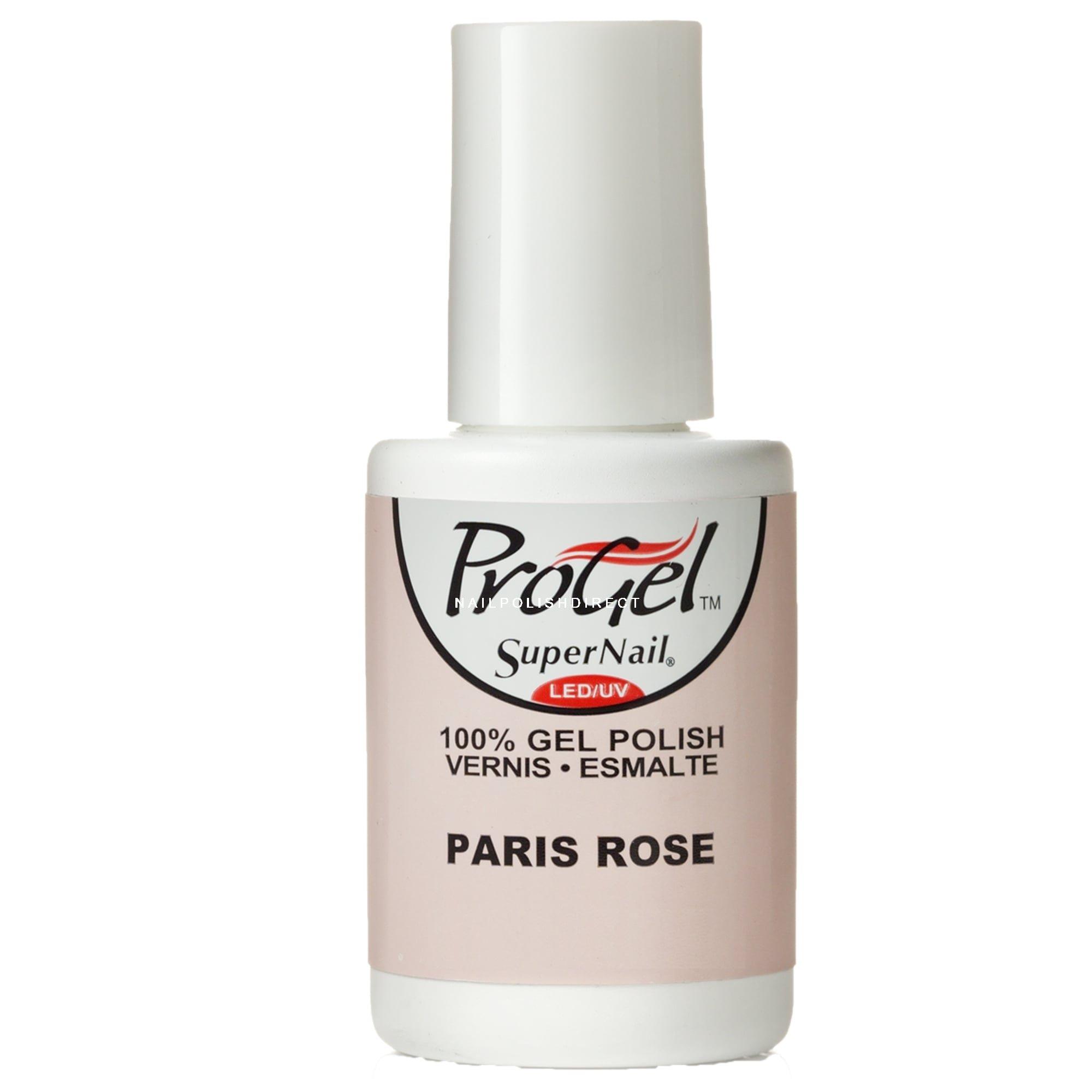 SuperNail ProGel Nail Polish - Paris Rose 14mL | Professional Nails