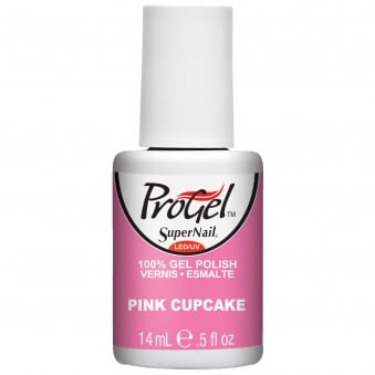 Gel Nail Polish - Pink Cupcake 14ml