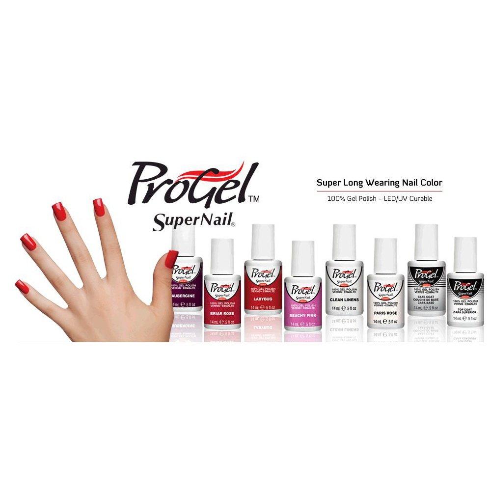 SuperNail ProGel Nail Polish - Poppy 14mL | Professional Nails