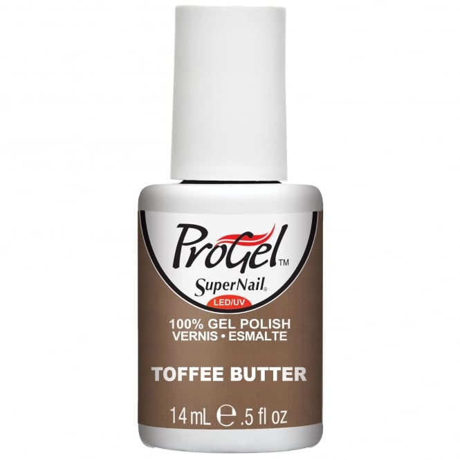 SuperNail ProGel Gel Nail Polish - Toffee Butter 14ml