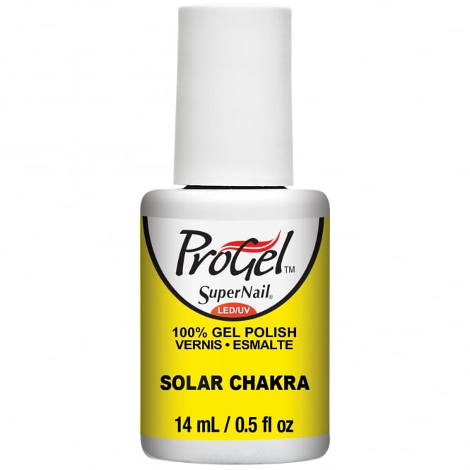 SuperNail ProGel Nail Polish Festival Of Colours 2016 Gel Collection - Solar Chakra 14ml