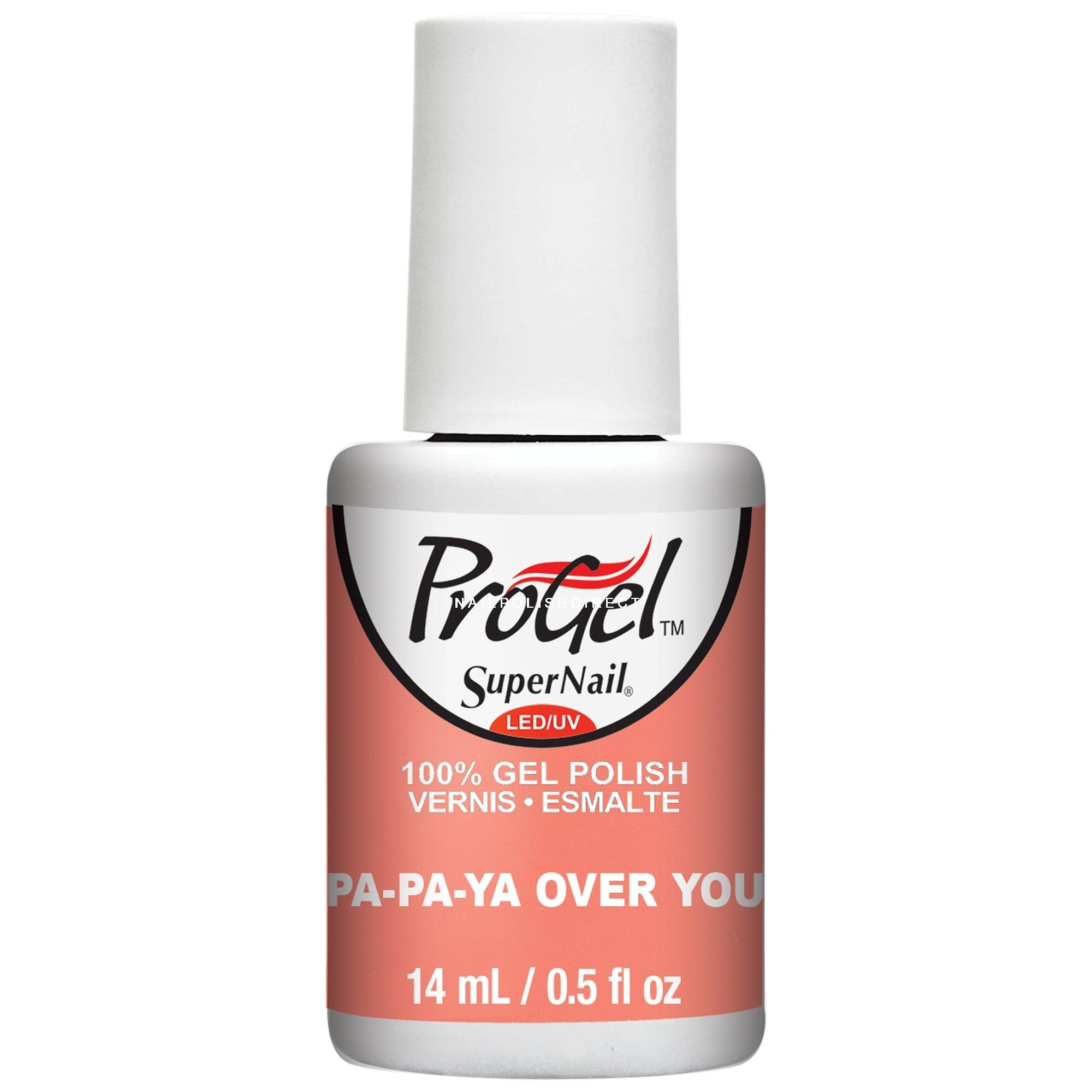 Supernail Progel Sugar Kiss 2016 Gel Nail Polish Papaya Over You