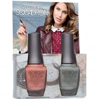Sweetheart Squadron Collection - Fashion On The Fly - A Duo Nail Polish Pack (2 x 15ml)