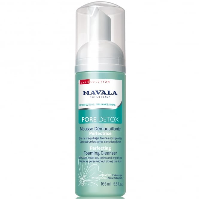 Mavala Swiss | Skin Solution - PORE DETOX Perfecting Foaming Cleanser (54201) 165ml