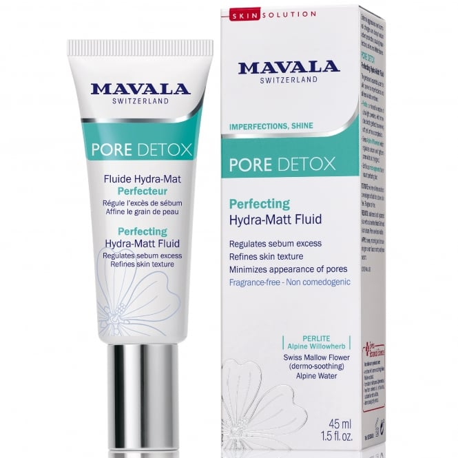 Mavala Swiss | Skin Solution - PORE DETOX Perfecting Hydra-Matt Fluid (53901) 45ml