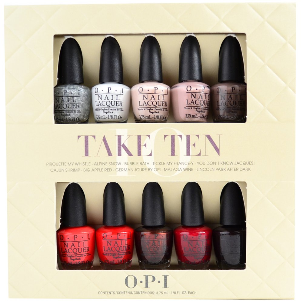 OPI Take Ten Limited Edition Set Is Available At Nail