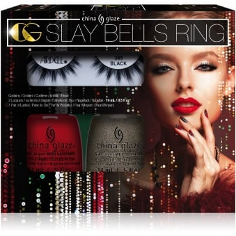 The Glam Finale 2017 Nail Polish Collection - 3 Piece Slay Bells Ring Kit (80022)