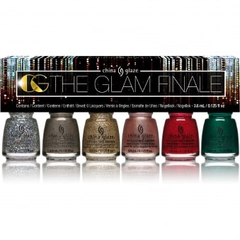 The Glam Finale 2017 Nail Polish Collection - 6 Piece Micro Mini Kit (84115)