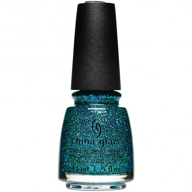 China Glaze The Glam Finale 2017 Nail Polish Collection - Teal The Fever (84112) 14ml