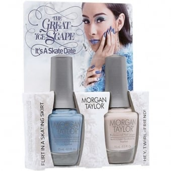 The Great Ice-Scape Collection - It's A Skate Date - A Duo Nail Polish Pack (2 x 15ml)