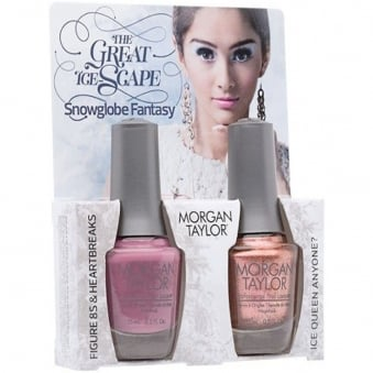 The Great Ice-Scape Collection - Snowglobe Fantasy - A Duo Nail Polish Pack (2 x 15ml)