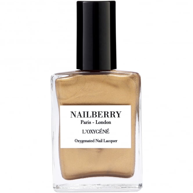 NailBerry The Guilt Trip Collection - Gold Leaf 15ml