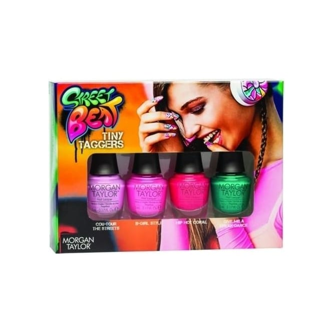 Morgan Taylor The Street Beat 2016 Mini Nail Polish Collection - Tiny Taggers (4x5ml)