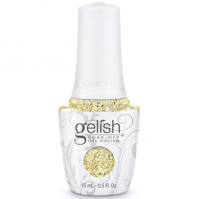 Gelish Thrill Of The Chill 2017 Gel Polish Collection - Ice Cold Gold (1110285) 15ml