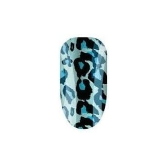 Nail Wraps - Cheetalicious Blue