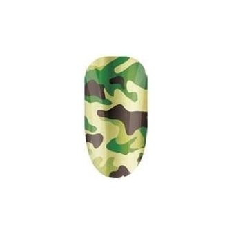 Nail Wraps - GI Jane Green