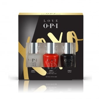 Trio Pack - Love OPI XOXO 2017 Nail Polish Infinite Shine 10 Day Wear (HP J58)