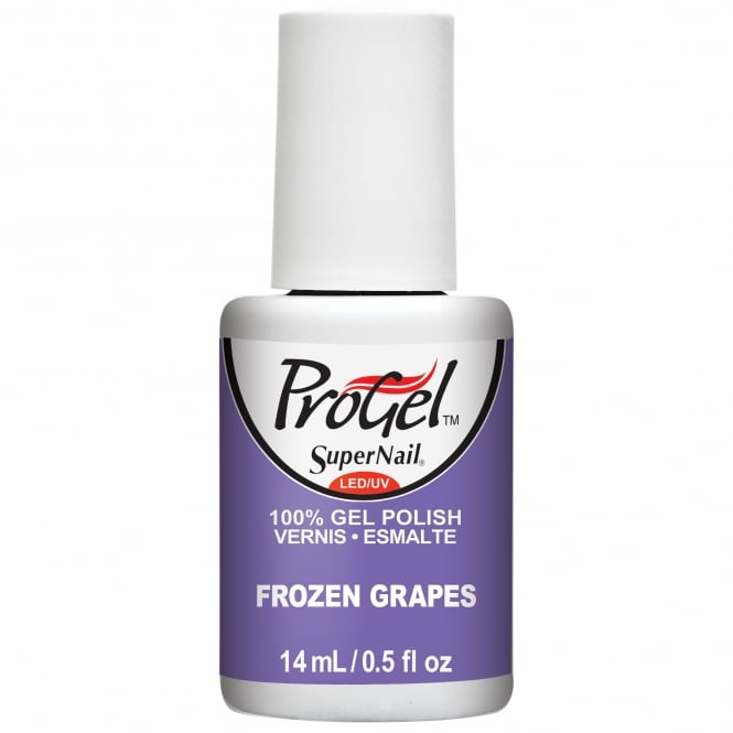 SuperNail ProGel Tropical Pop Gel Nail Polish Collection - Frozen Grapes 14ml