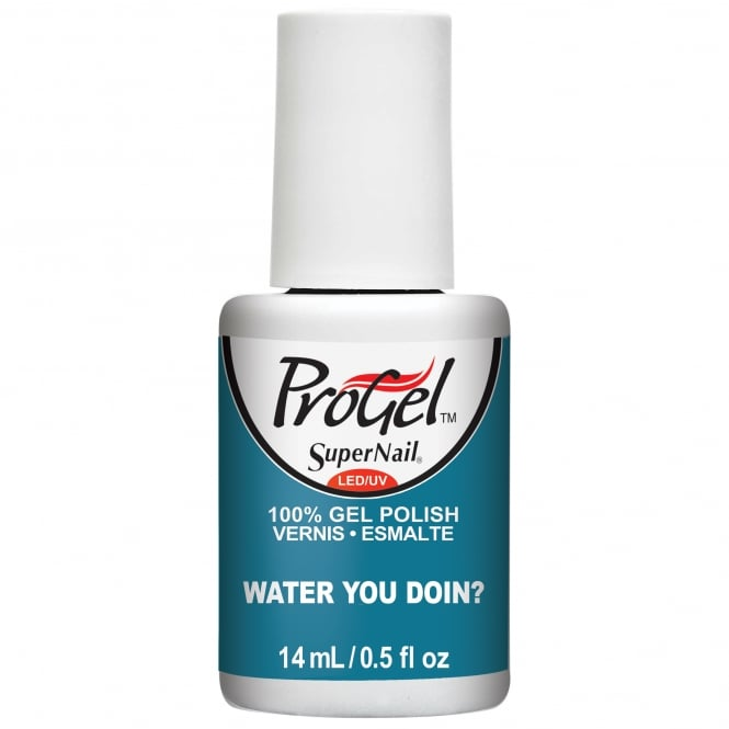 SuperNail ProGel Tropical Pop Gel Nail Polish Collection - Water You Doin? 14ml