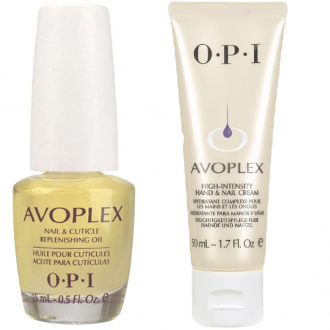 OPI (Unboxed) Avoplex Hand & Nail Treatment Duo (1 x 15ml & 1 x 50ml)