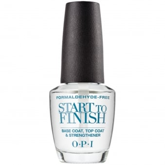 (UNBOXED) Nail Treatment Start To Finish - Formaldehyde Free 15ml