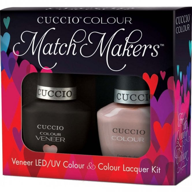 Cuccio Veneer UV/LED Polish Match Maker Sets - Nude A Tude x2 13ml (6173LEDMATCHMAKER)