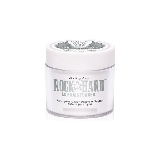 Artistic Rock Hard VIP Polymer Nail Powders - VIP Soft White 105g (02413)