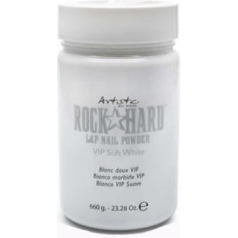 VIP Polymer Nail Powders - VIP Soft White 660g (02423)