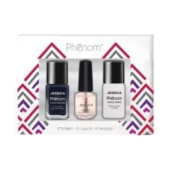 Vivid Colour Gift Sets - Blue Blooded & Finale Shine 15ml - Free Reward Basecoat 7.4ml