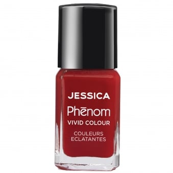 Vivid Colour Weekly Nail Polish - Jessica Red 15mL