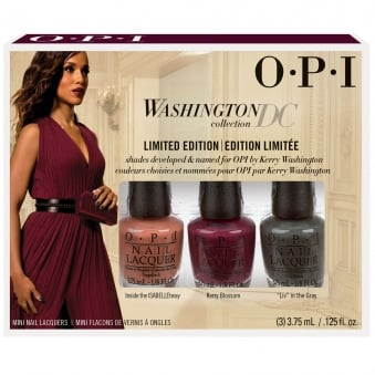 Washington DC Nail Polish Collection 2016- 3 Piece Mini Set (3 X 3.75ML)