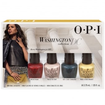 Washington DC Nail Polish Collection 2016- 4 Piece Mini Set (4 X 3.75ML)