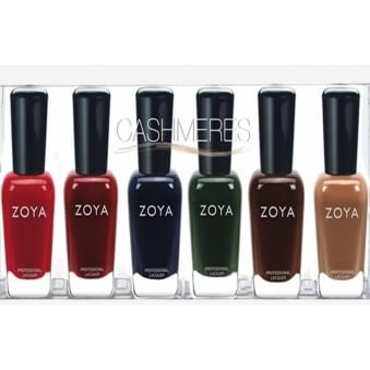 Cashmeres Sampler Set Nail Polish Collection - (6 X 14ml)