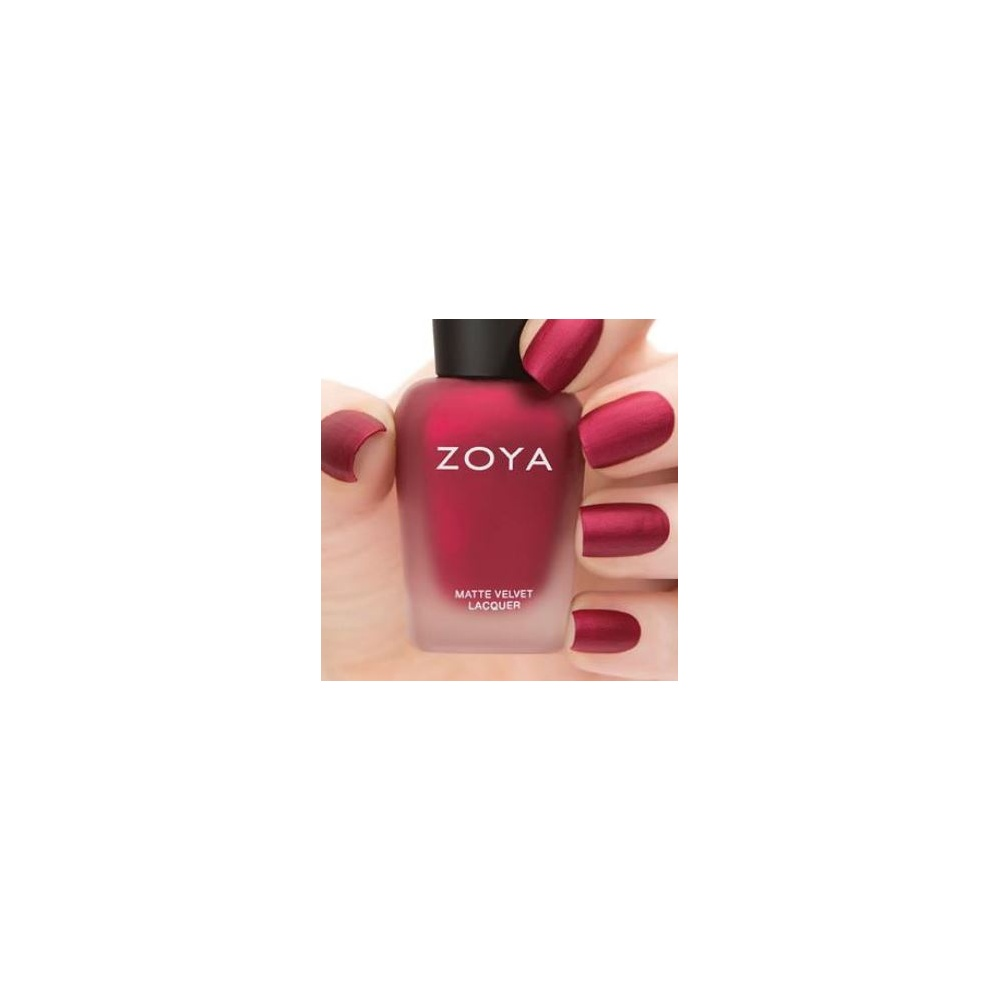 Zoya Matte Velvet Shimmer Nail Polish Collection - Posh 14ml