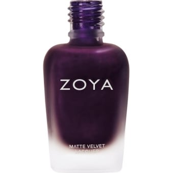 Nail Polish Matte Velvet Winter 2015 Holiday Collection - Iris 15ml (ZP817)